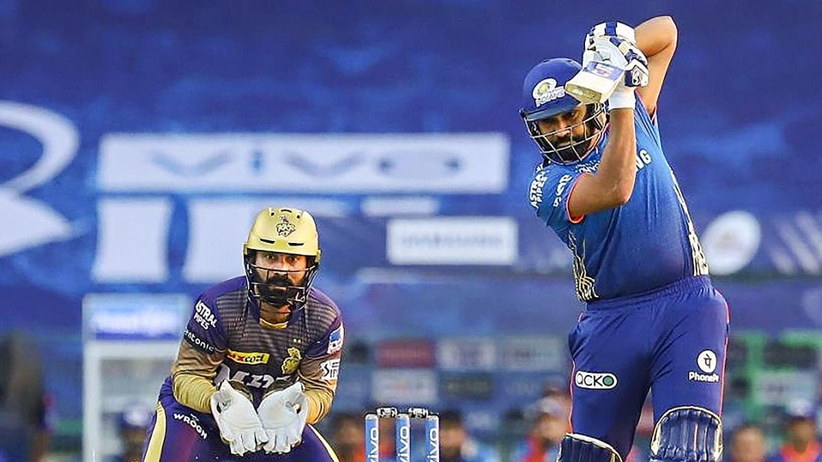 IPL 2021: रोहित शर्मा ने बनाया अनोखा रिकॉर्ड, ऐसा करने वाले आईपीएल के पहले बल्लेबाज बने