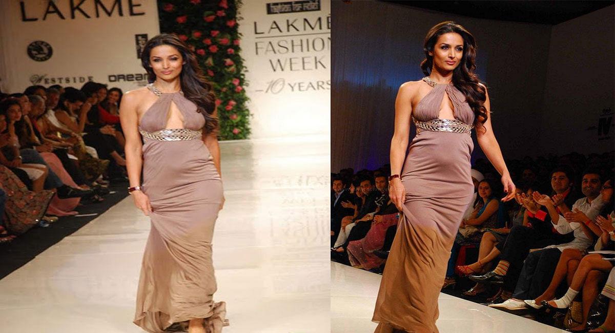 Malaika Arora ने Lakme Fashion Week में फ्लॉन्ट किया था बेबी बंप,प्रेगनेंसी पीरियड में यूं रखती थीं अपना ख्याल