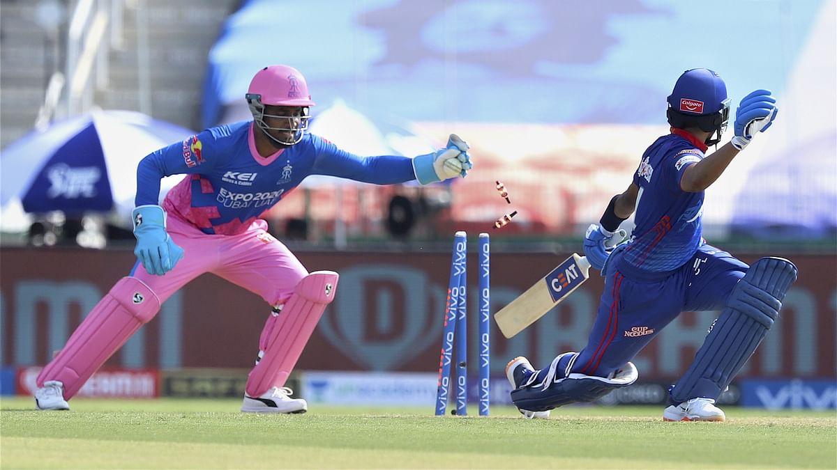 IPL 2021: संजू सैमसन ने दिखायी धोनी जैसी फुर्ती, विकेट के पीछे ऐसे किया श्रेयस अय्यर का शिकार