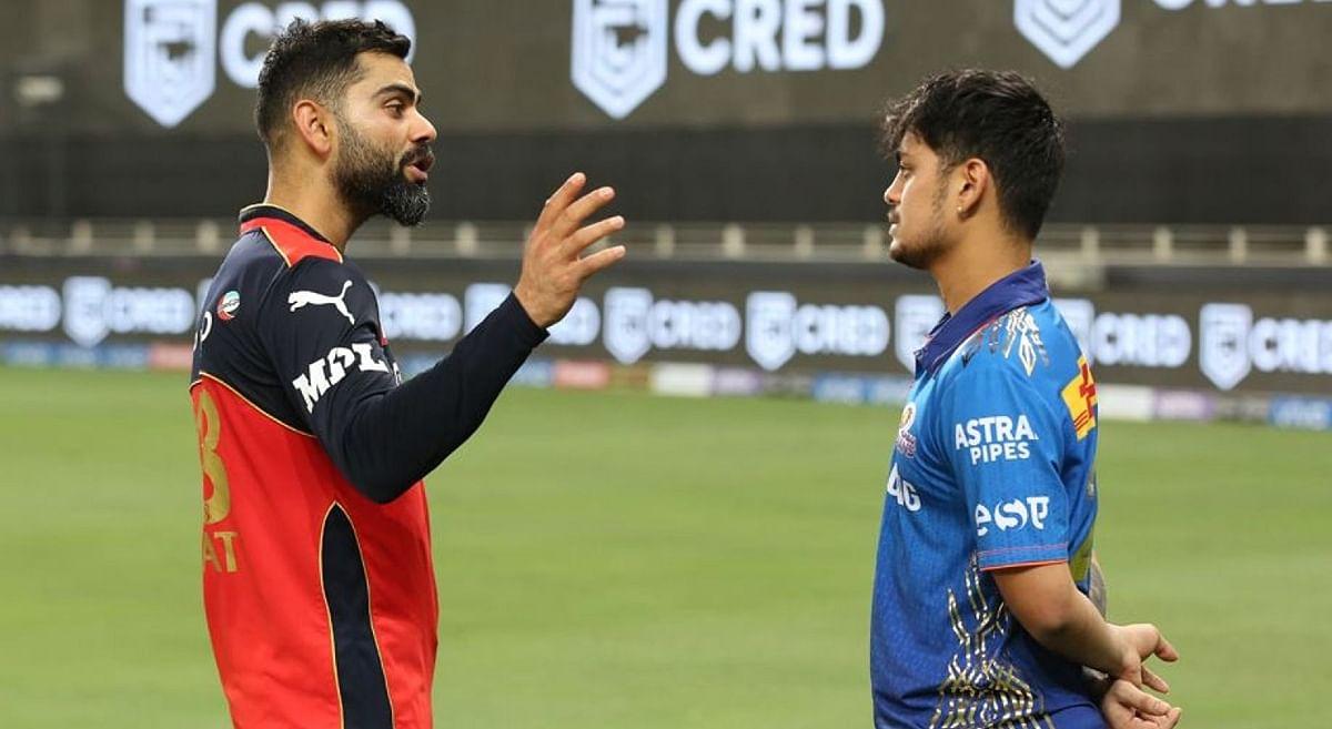 IPL 2021: फॉर्म के लिए संघर्ष कर रहे ईशान किशन के कंधे पर विराट कोहली ने क्यों रखा हाथ VIDEO