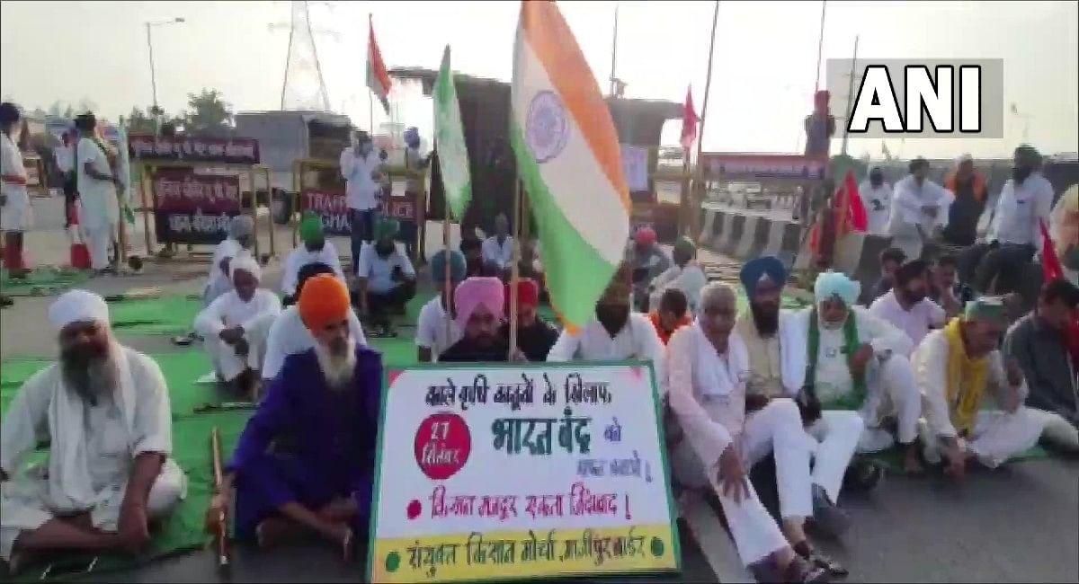 Bharat Bandh Live Update: दिल्ली-गुरुग्राम बॉर्डर पर गाड़ियों का लंबा जाम, झारखंड में कई जगह पर प्रदर्शन