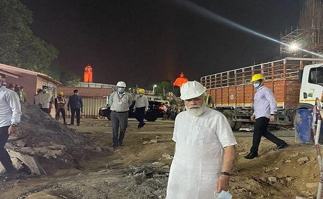 PM नरेंद्र मोदी ने नए संसद भवन के निर्माण स्थल का अचानक किया दौरा, एक घंटे रुक कर लिया काम का जायजा
