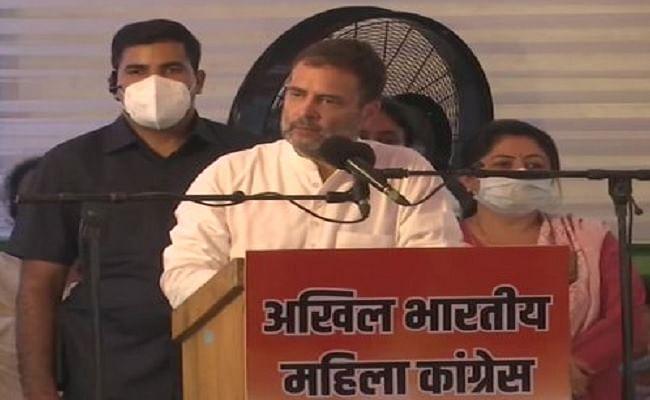 बीजेपी आरएसएस फेक हिंदू, सिर्फ अपने फायदे के लिए धर्म की दलाली करते हैं- राहुल गांधी