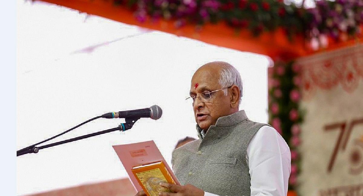 गुजरात कैबिनेट: रुपाणी सरकार के सभी मंत्रियों की छुट्टी,भूपेंद्र पटेल मंत्रिमंडल में 24 नये विधायकों ने ली शपथ