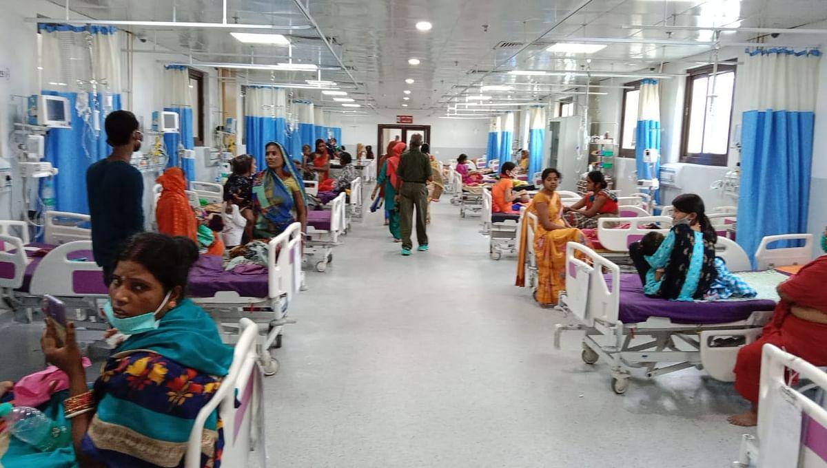 पटना के NMCH में निमोनिया पीड़ित बच्ची की मौत, PMCH में एक डेंगू पॉजिटिव मिला