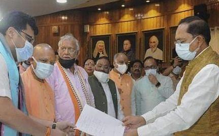 UP Dy Speaker Election: सोमवार को 6 घंटे का सत्र, डिप्टी स्पीकर के कैंडिडेट नितिन अग्रवाल को BJP का समर्थन