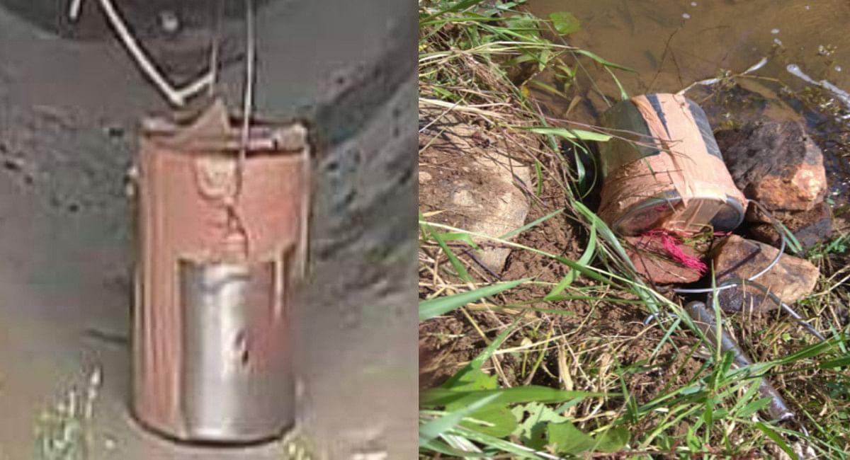Jharkhand Crime News: बोकारो-गिरिडीह की सीमा पर केन बम बरामद, पेट्रोलिंग पार्टी को बनाना था निशाना