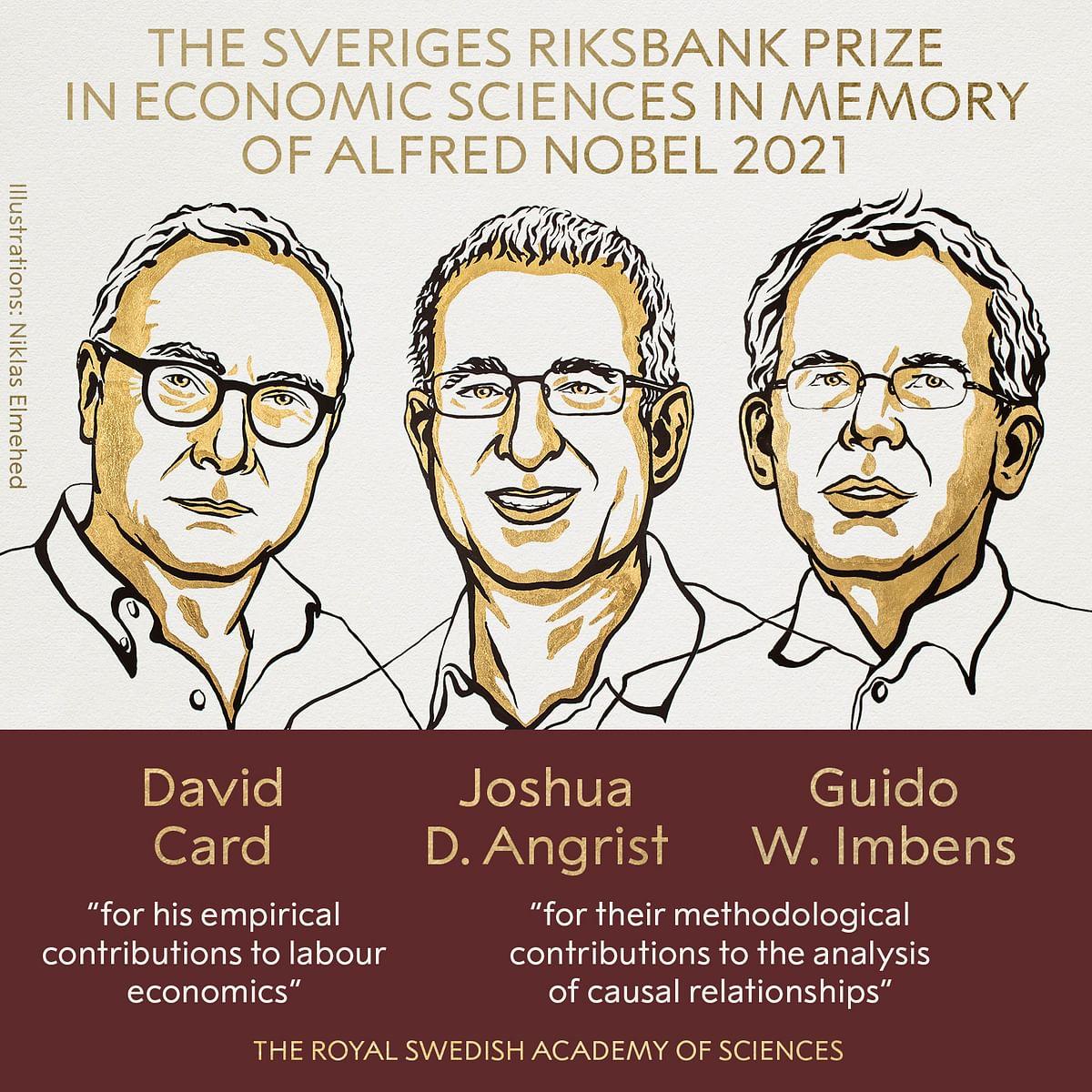 Nobel Prize in economics 2021 : तीन अमेरिकी अर्थशास्त्रियों को दिया गया पुरस्कार, ये है इनकी उपलब्धि