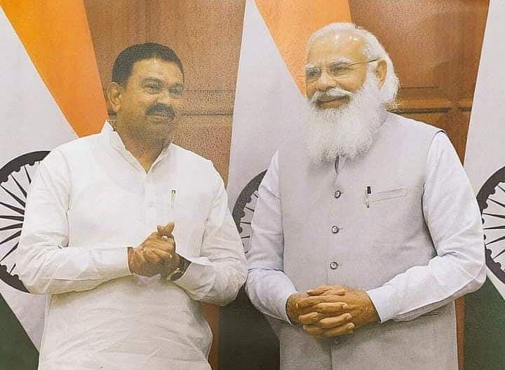PM Modi के साथ अजय मिश्रा टेनी