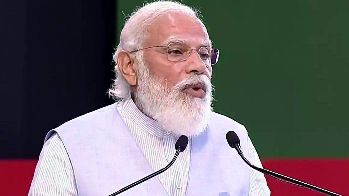 PM Modi in Lucknow: मेरे विरोधी पूछते हैं कि मोदी ने क्या किया' विपक्ष पर कुछ यूं बरसे PM, जानें और क्या कहा