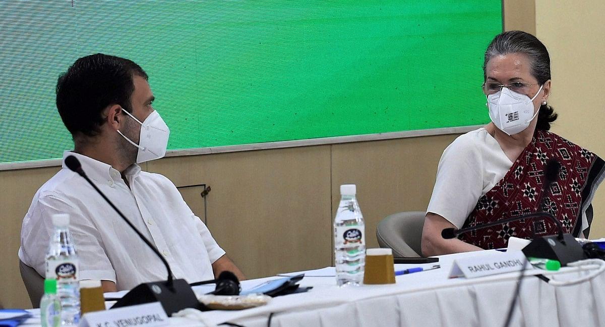 कांग्रेस कार्यसमिति में बोलीं सोनिया- मैं फुलटाइम कांग्रेस अध्यक्ष, राहुल बोले- अध्यक्ष बनने पर विचार करूंगा