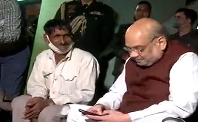 Indo-Pak बॉर्डर की आखिरी पोस्ट पर पहुंचे गृह मंत्री अमित शाह, ग्रामवासियों का जाना हाल