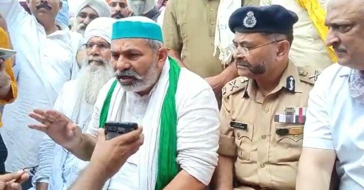 लखीमपुर हिंसा: मुआवजे के ऐलान के बीच राकेश टिकैत का सरकार को अल्टीमेटम, 10 दिन के भीतर गिरफ्तारी नहीं तो...