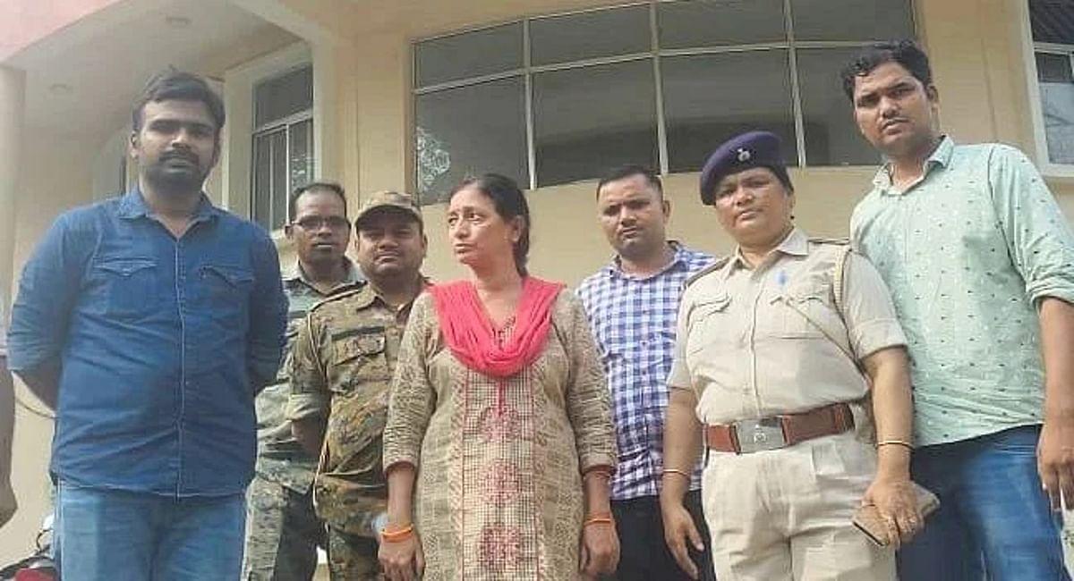 वाराणसी के शाइन सिटी घोटाले का तार धनबाद से जुड़ा, STF की टीम ने महिला आरोपी मीरा श्रीवास्तव को किया गिरफ्तार