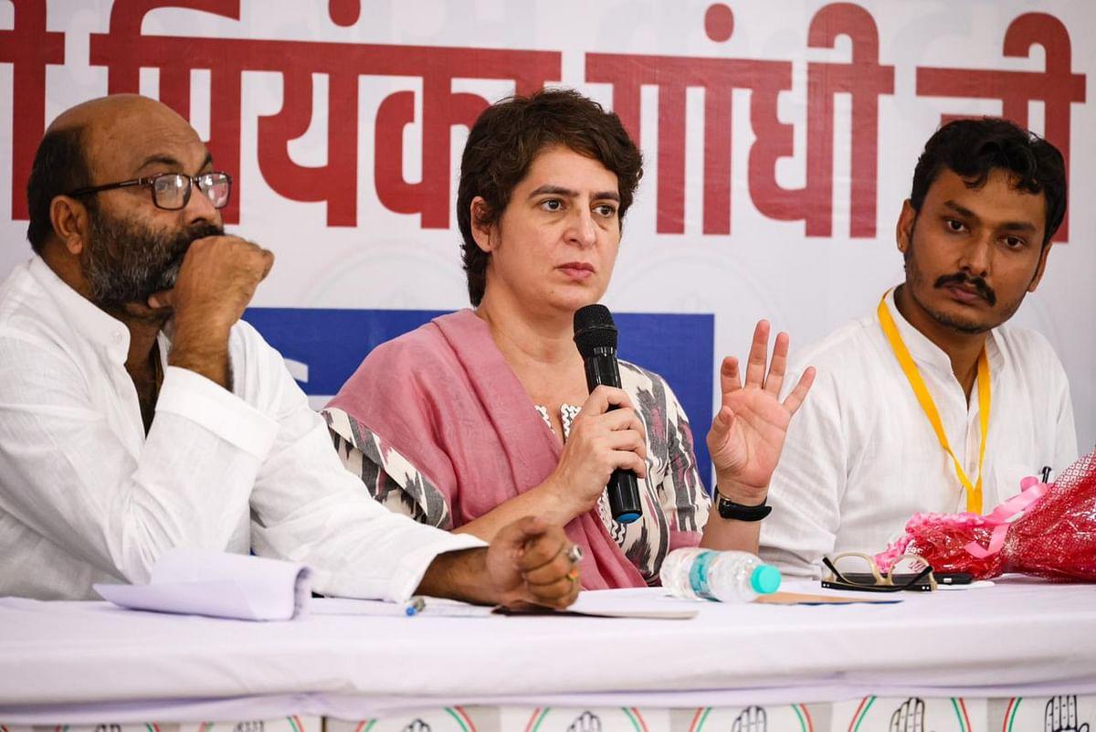 कानपुर में मनीष गुप्ता के परिवार से नहीं मिलीं प्रियंका गांधी, कार्यक्रम रद्द करके लौटीं दिल्ली