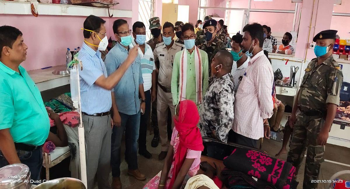 गुमला में बिजली हादसा : मृतकों के परिजन को दो-दो लाख रुपये मुआवजे की घोषणा, घायलों का सरकारी खर्च पर होगा इलाज