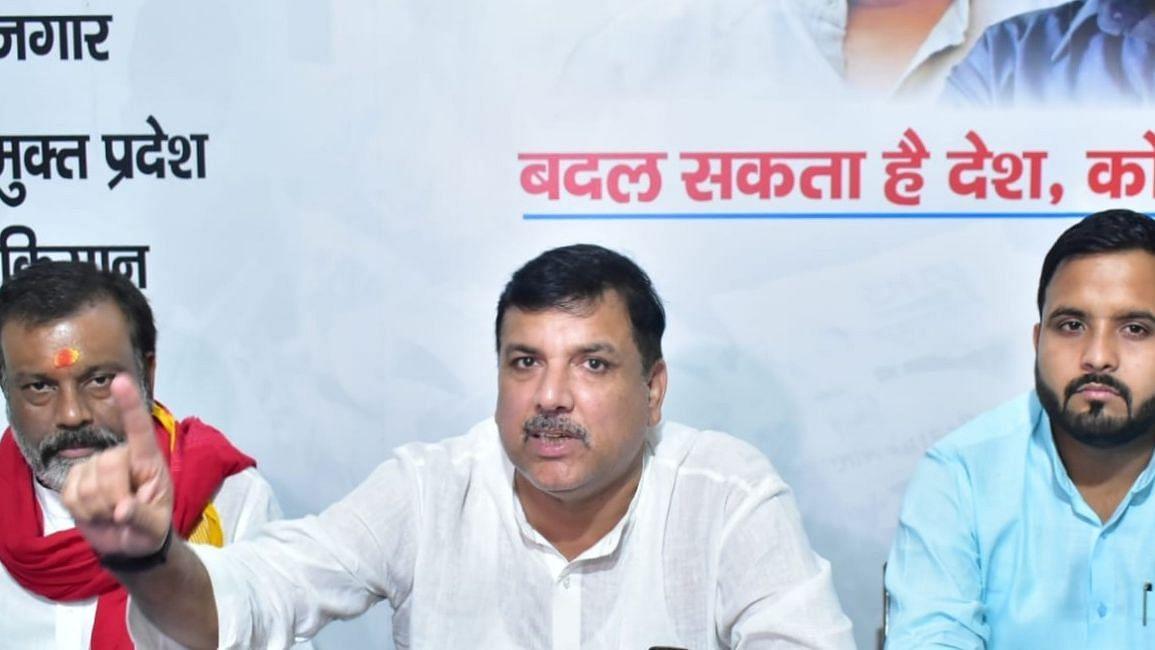 UP Election 2022: मायावती को AAP की आलोचना करने की बजाय दिल्ली सरकार के अच्छे कामों को देखना चाहिए- संजय सिंह