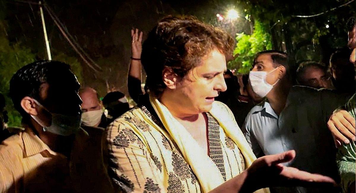 Lakhimpur Kheri LIVE Updates: प्रियंका गांधी गिरफ्तार, सीतापुर में मुकदमा दर्ज हुआ
