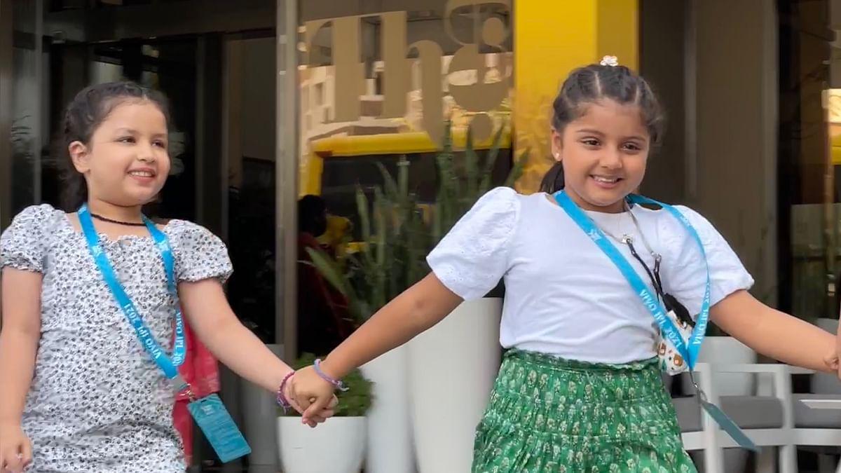IPL 2021: धोनी की बेटी जीवा और रैना की बेटी ग्रेसिया के बीच गहरी दोस्ती, तस्वीरें वायरल