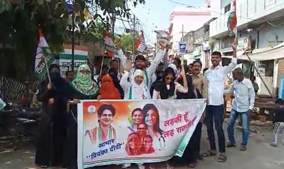 यूपी चुनाव में महिलाओं को 40% आरक्षण देगी कांग्रेस, प्रियंका गांधी के एलान से प्रयागराज में खुशी की लहर