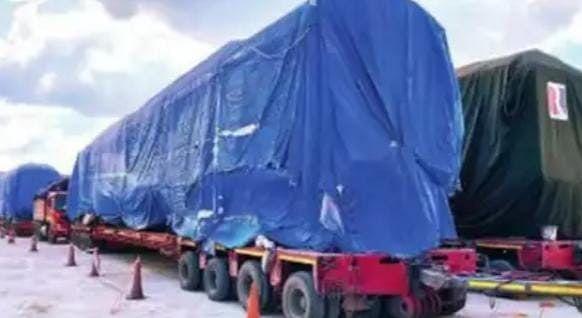 Kanpur News: तीन कोच की दूसरी मेट्रो ट्रेन पहुंची कानपुर, 15 नवंबर को होगा ट्रायल