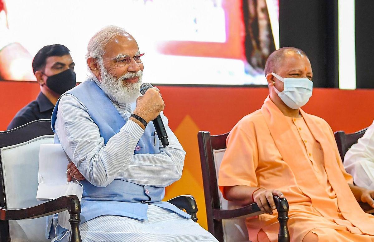लखनऊ के दौरे से चुनावी मतलब साध गए पीएम मोदी? गोमुखी और अयोध्या का जिक्र रहा खास