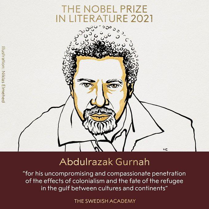 Nobel Prize in Literature 2021 : उपन्यासकार अब्दुलरजाक गुरनाह को साहित्य का नोबल पुरस्कार दिये जाने की घोषणा