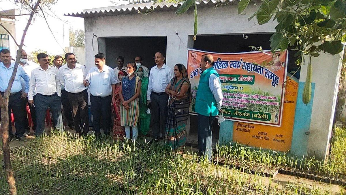 Bareilly News: बरेली की महिलाओं ने छत पर तैयार की गन्ने की पौध, केंद्रीय सचिव ने की सराहना