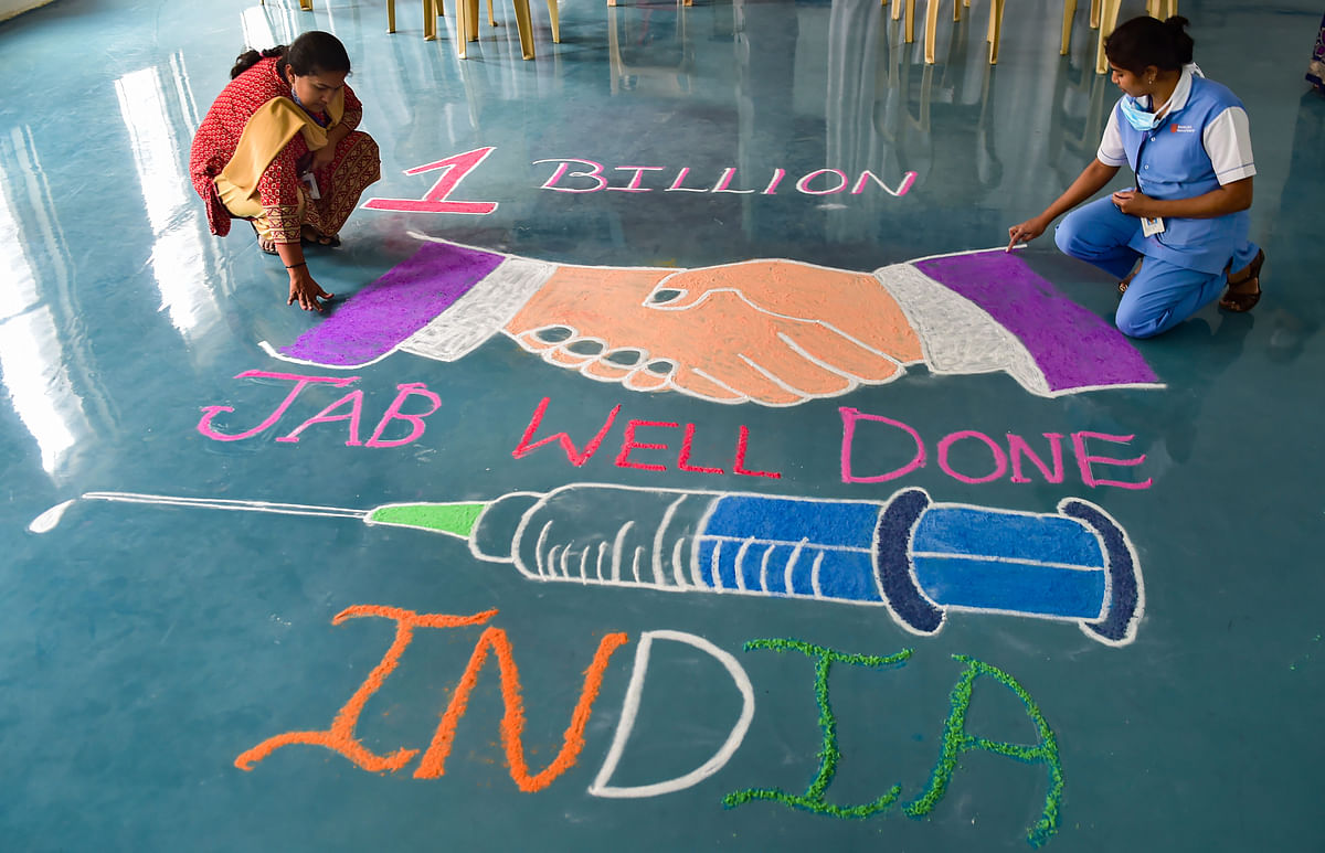 1 Billion Vaccination: डब्ल्यूएचओ प्रमुख ने प्रधानमंत्री मोदी, स्वास्थ्यकर्मियों को बधाई दी