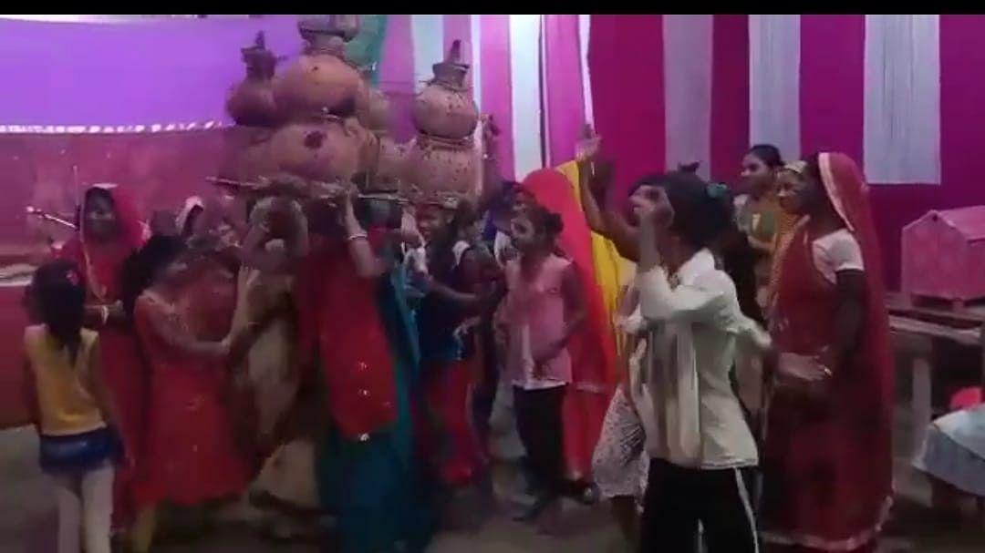 VIDEO: दंग करने वाली है नवरात्र में मिथिलांचल की पारंपरिक लोक-नृत्य झिझिया, पहचान बचाने की जरुरत, देखें वीडियो