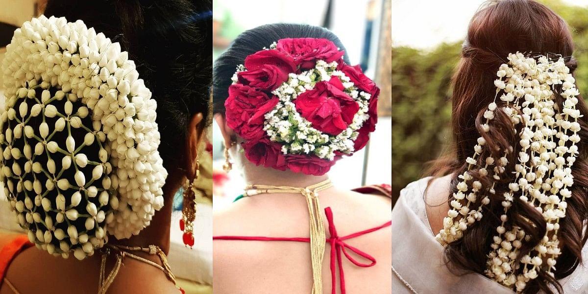 Karva chauth gajra hair style : अपने बालों को गजरे से कुछ ऐसे सजाएं, मिलेगा अट्रैक्टिव लुक