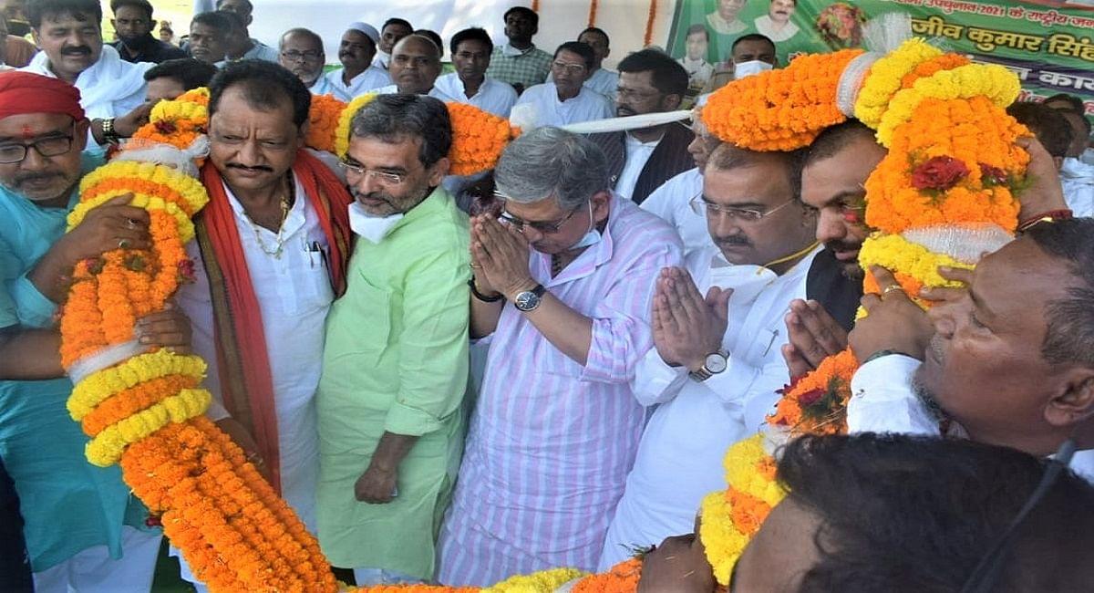 Bihar By Election: सजने लगा चुनावी मैदान, जदयू प्रत्याशियों के समर्थन में मंत्री और कद्दवार नेताओं की उतरी फौज