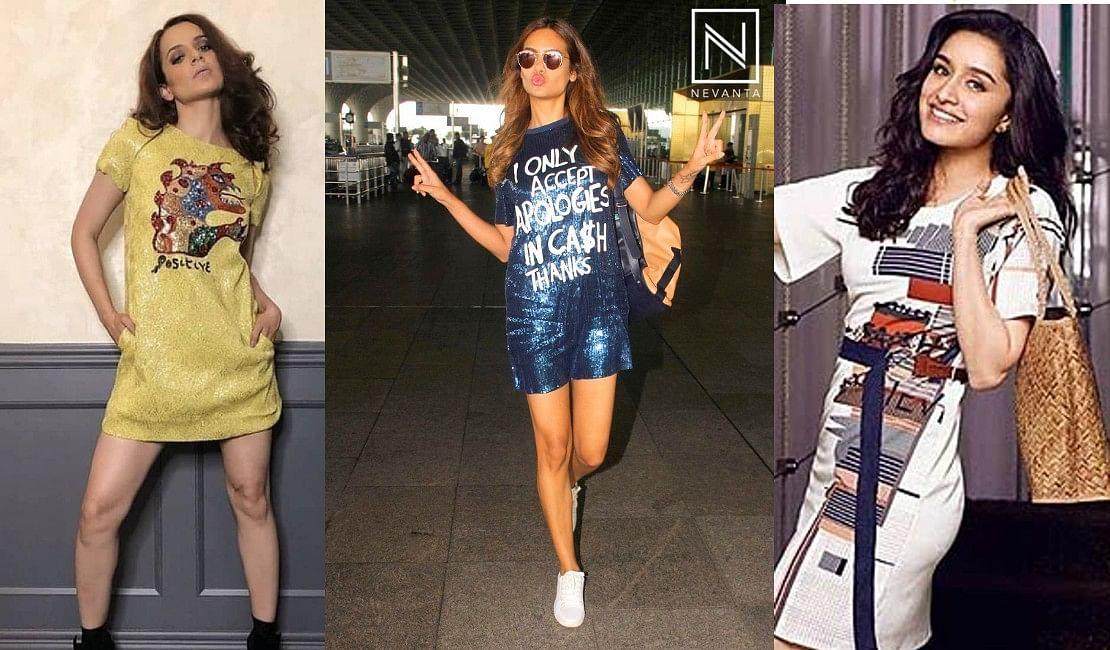 सुपर स्टाइलिश लुक के लिए टीशर्ट ड्रेसेज हैं परफेक्ट, ये बॉलीवुड एक्ट्रेसेज कर चुकी हैं ट्राई