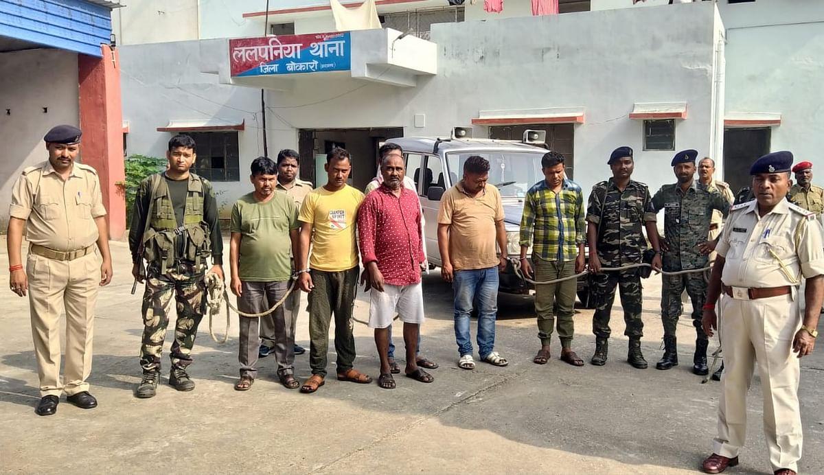 Jharkhand News : बिजली सब स्टेशन में डकैती का पुलिस ने किया खुलासा, पांच अपराधी गिरफ्तार