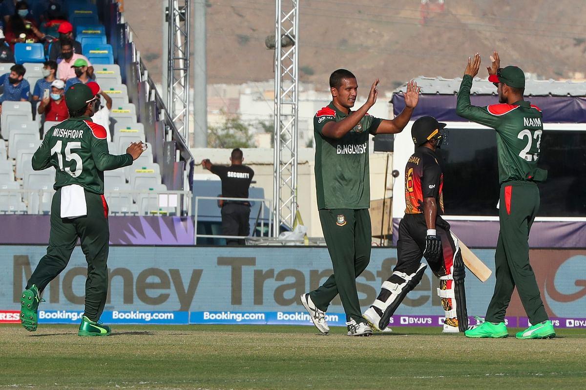 T20 World Cup: बांग्लादेश ने पापुआ न्यू गिनी को 84 रनों से हराया, सुपर 12 में जगह की पक्की