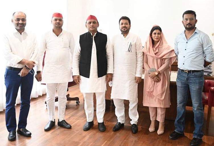 सपा की शरण में बाहुबली नेता रिजवान जहीर, पहली बार निर्दलीय चुनाव जीत बने थे विधायक