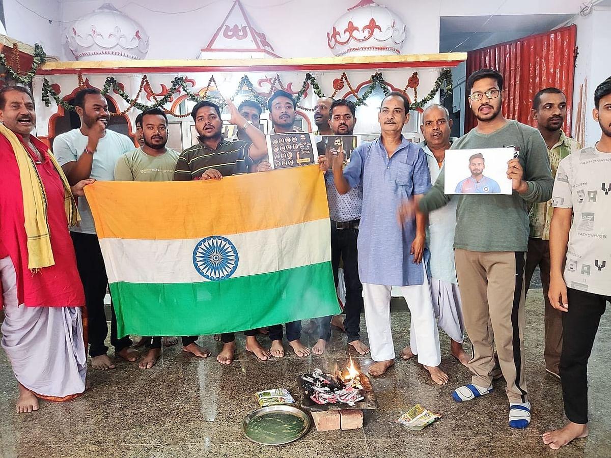 IND vs PAK WC T20: भारत-पाकिस्तान के बीच हाईवोल्टेज मुकाबला, फैंस ने किया India की जीत के लिए हवन