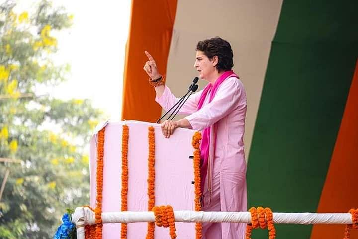 वाराणसी के बाद सीएम योगी के गढ़ गोरखपुर में प्रियंका गांधी की रैली, पूर्वांचल की सीटों पर कांग्रेस की नजर
