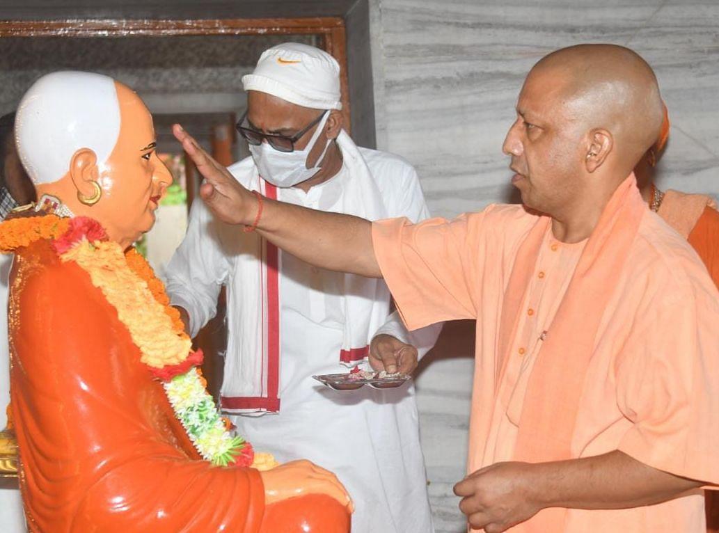 Navratri 2021: 27 साल से जारी शक्ति पूजा को फिर करेंगे CM योगी, दशमी पर दंडाधिकारी बन करेंगे श्रीराम का तिलक