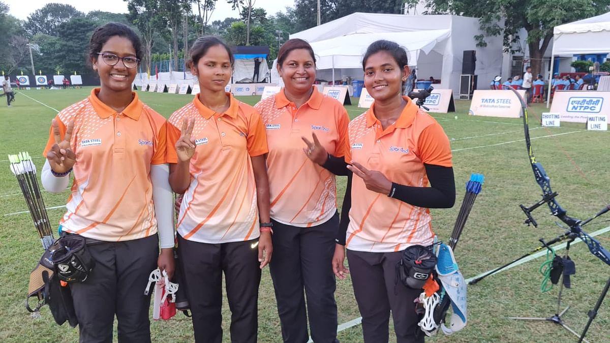 एनटीपीसी 40वीं सीनियर नेशनल आर्चरी चैंपियनशिप में झारखंड महिला टीम ने रजत व पुरुष टीम ने जीता कांस्य पदक