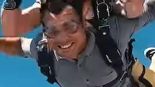 मालदीव के बाद दुबई पहुंचे गोल्डन ब्वॉय नीरज चोपड़ा, skydiving का उठाया लुत्फ, वीडियो वायरल
