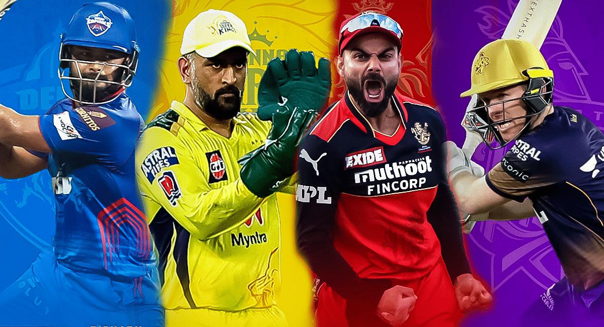 IPL 2021: दिल्ली, चेन्नई, बैंगलोर और कोलकाता प्लेऑफ में, देखें प्वाइंट टेबल और टीम स्क्वाड