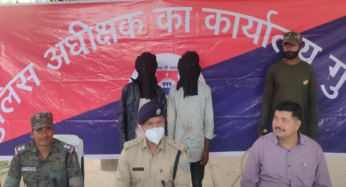 गुमला के बिशुनपुर में दो नाबालिग बहनों से सामूहिक दुष्कर्म मामले में दो आरोपी गिरफ्तार, एक ने किया सुसाइड