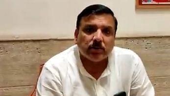 अरविंद केजरीवाल पर अयोध्या जाते समय बीजेपी कार्यकर्ता कर सकते हैं हमला, संजय सिंह ने जतायी आशंका