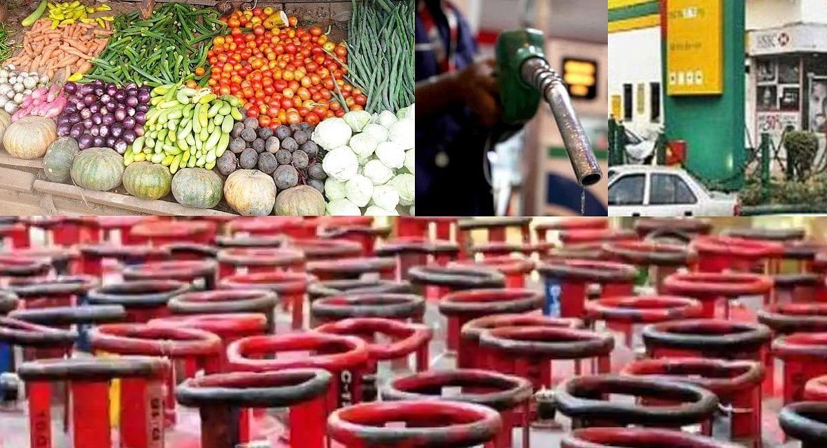 त्योहारों में मार रही महंगाई, 1 अक्टूबर के बाद से पेट्रोल-डीजल, गैस और सब्जियों के इतने बढ़े दाम
