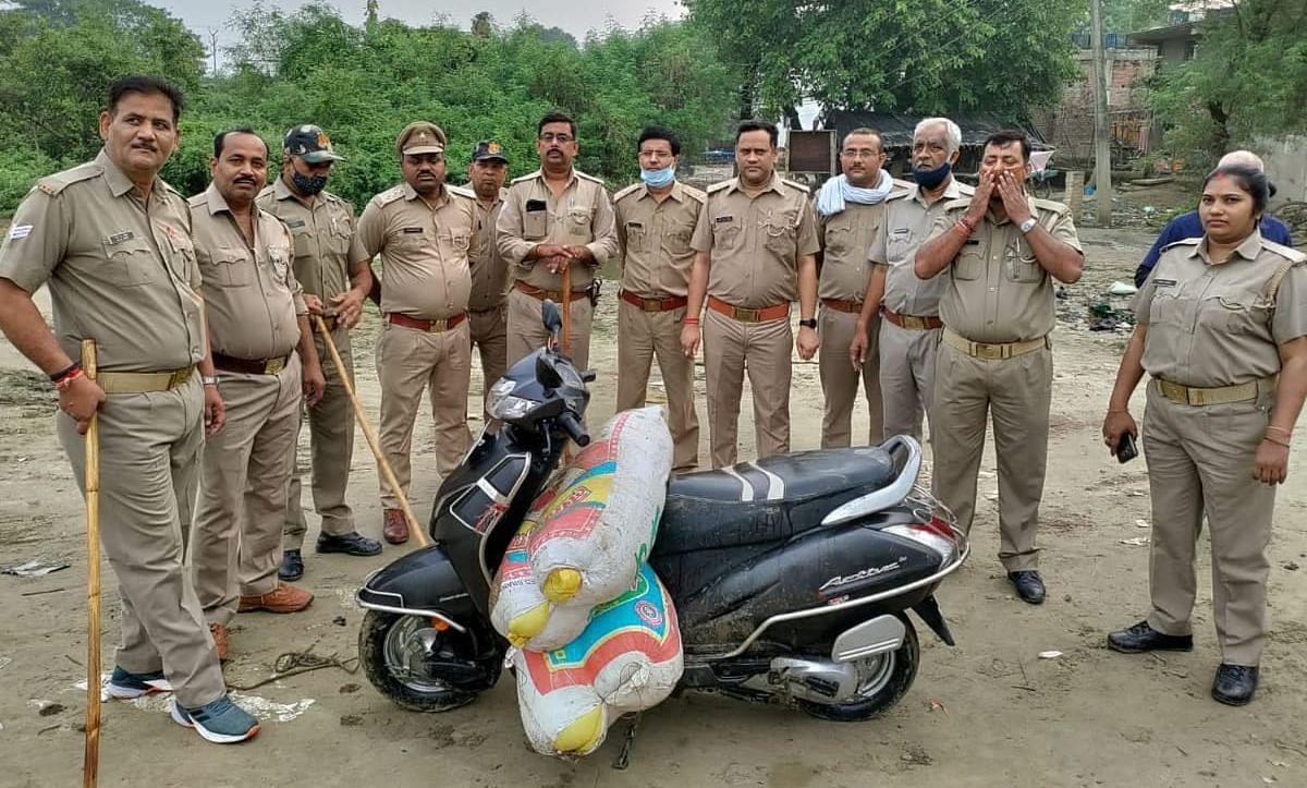 UP News: अवैध शराब कारोबार के खिलाफ बड़ी कार्रवाई, टीम ने 15 भट्ठियां तोड़ी, तीन आरोपी पर मामला दर्ज