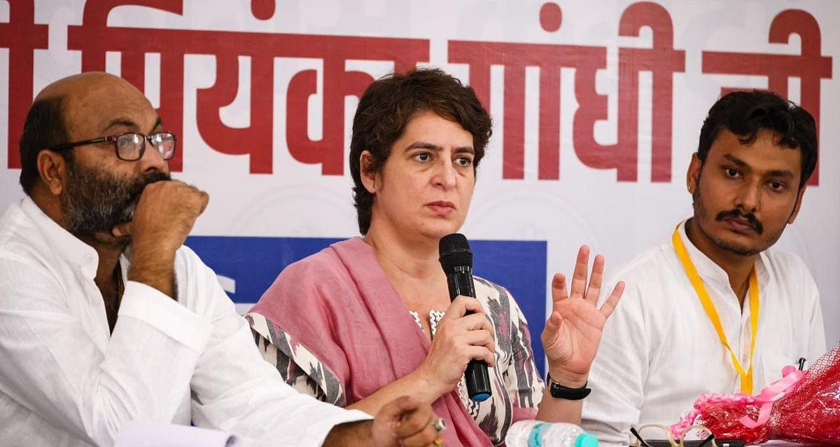 Lakhimpur Kheri: धारा-144 के उल्लंघन पर प्रियंका गांधी गिरफ्तार, सीतापुर में कांग्रेसी कार्यकर्ताओं का हंगामा