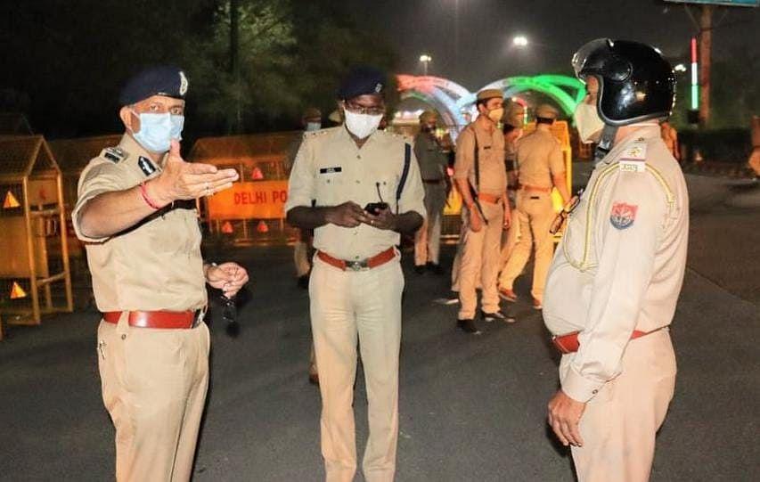 त्योहारी सीजन में नोएडा बॉर्डर पर बढ़ाई गई सुरक्षा, दिल्ली में आतंकी पकड़ाने से यूपी पुलिस अलर्ट पर