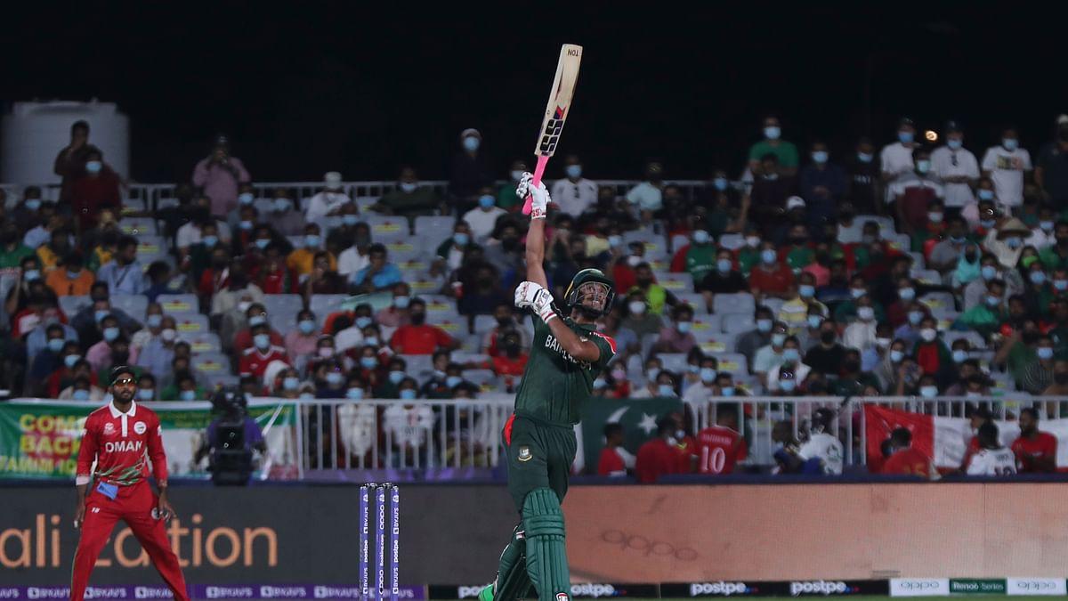 BAN vs Oman T20 WC: बांग्लादेश ने ओमान को 26 रन से हराया, वर्ल्ड कप में उम्मीदें कायम