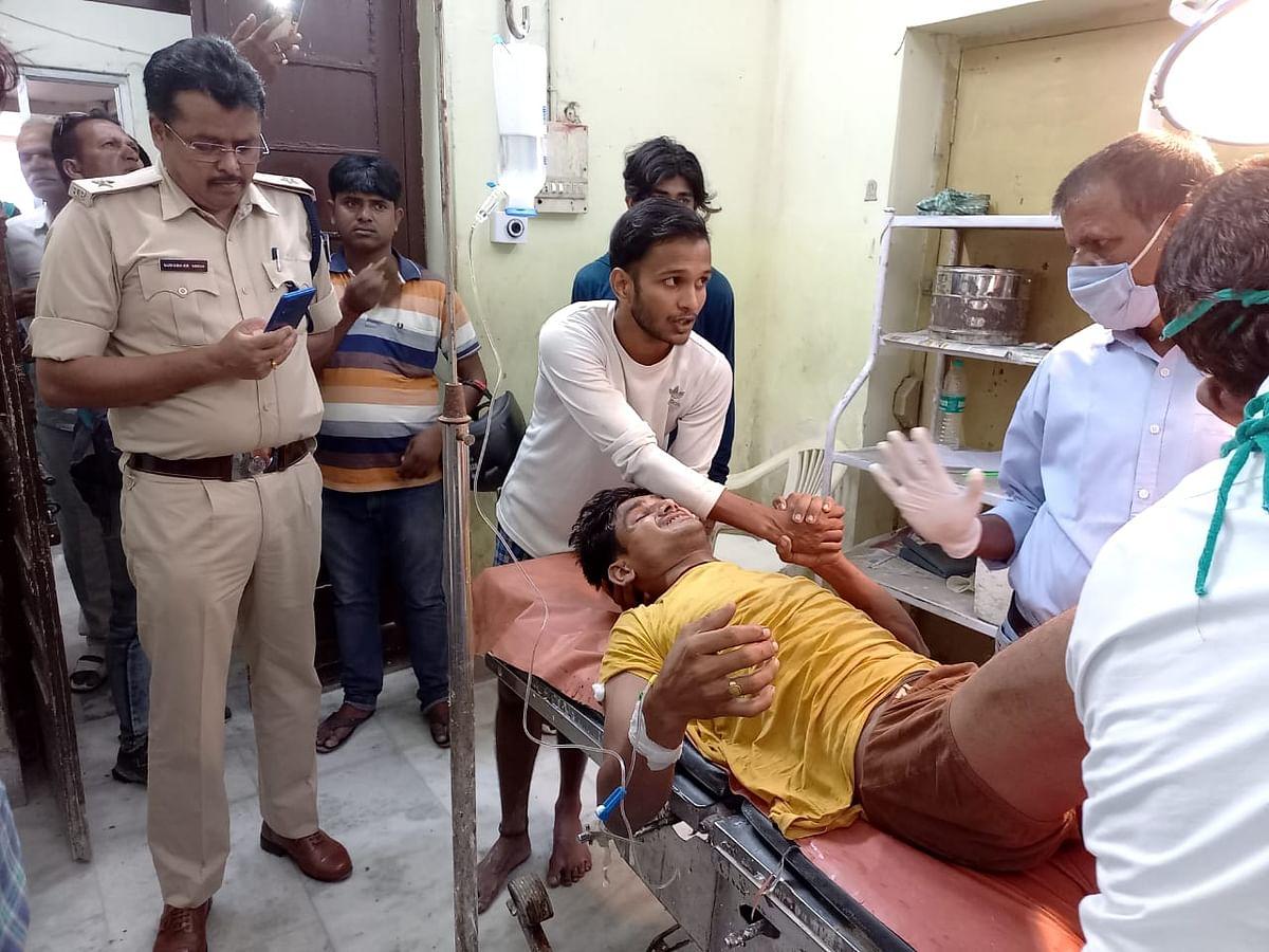 बिहार पंचायत चुनाव: वैशाली के लालगंज में बूथ पर हंगामा व गोलीबारी, युवक को लगी गोली